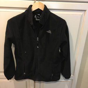 The north face boys fleece sweatshirt jacket L